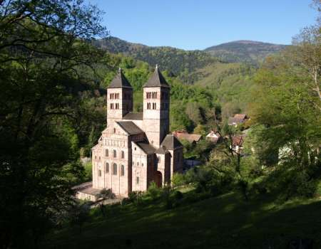 Guided tour of the Abbey of Murbach